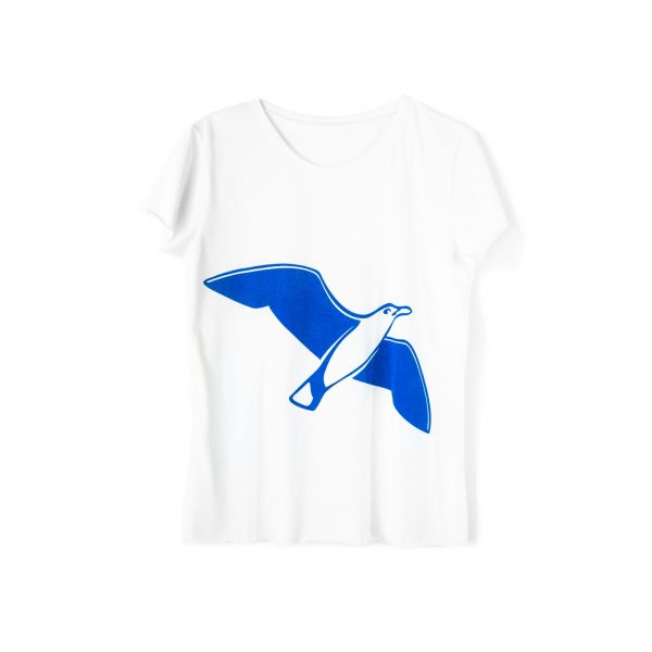 famous seagull tank top by Lili Gabbiano, organic cotton tee